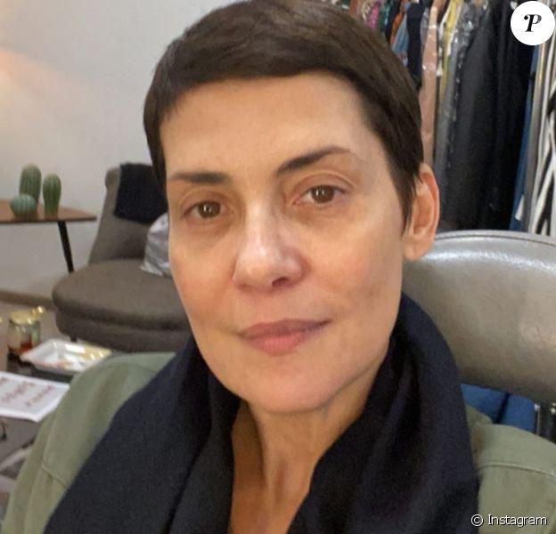 Cristina Cordula, malade de la grippe le 31 janvier 2020.