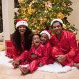 Ciara fête Noël en famille avec Russell Wilson, Sienna et Future. Instagram. Le 25 décembre 2019.