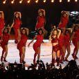 Shakira et Jennifer Lopez assurent le show lors de la mi-temps du 54 ème Super Bowl au Hard Rock Stadium à Miami, le 2 février 2020. D. Lovato a chanté l'hymne national avant le début du match. Les Chiefs de Kansas City remportent le Super Bowl (31 - 20) face aux 49ers de San Francisco au Hard Rock Stadium de Miami, le 2 février 2020. La victoire a été remporté notamment grâce au quarterback P. Mahomes (15).  Shakira and Jennifer Lopez perform during the Pepsi Super Bowl LIV Halftime Show at Hard Rock Stadium. Miami. February 2, 2020.02/02/2020 - Miami