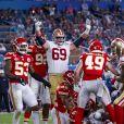 Les Chiefs de Kansas City remportent le Super Bowl LIV (31 - 20) face aux 49ers de San Francisco au Hard Rock Stadium de Miami, le 2 février 2020.