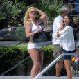 Britney Spears tourne une publicité pour un magazine, à Los Angeles. 06/08/09
