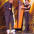 """Marc Lavoine et Gustine - Extrait de l'émission """"The Voice"""" diffusée samedi 8 février 2020, TF1"""