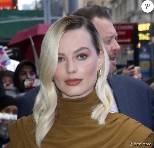 """Margot Robbie - Le casting de """"Birds of Prey"""" assure la promotion du film dans l'émission """"Good Morning America"""" à New York, le 4 février 2020."""