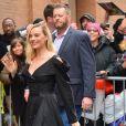 Margot Robbie arrive à The View pour la promotion du film 'Birds of Prey' à New York, le 4 février 2020.