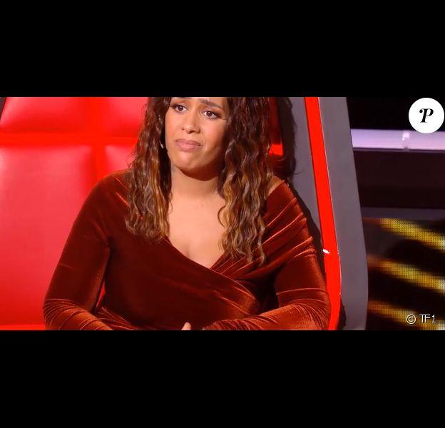 """Amel Bent dans """"The Voice"""" - Emission diffusée samedi 8 février 2020, TF1"""