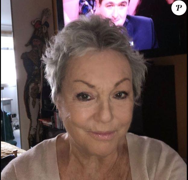 Mylène Demongeot sur Facebook. Le 30 janvier 2020.