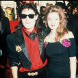 Archives- Drew Barrymore et Copy Feldman aux Oscars de 1989.
