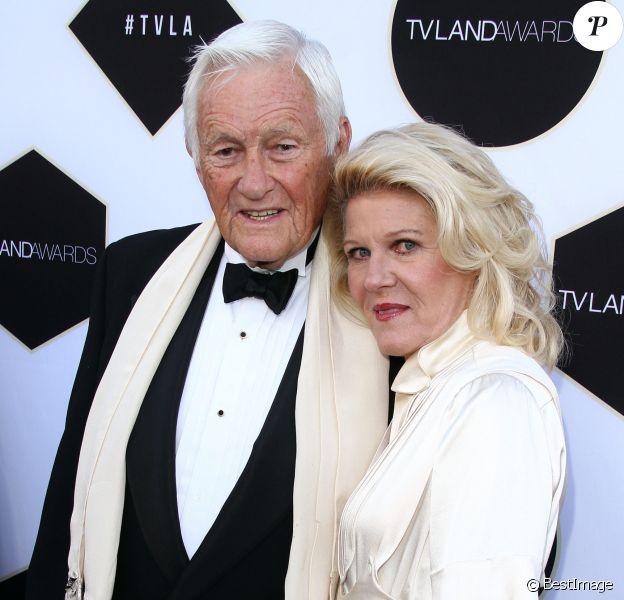 Orson Bean avec sa femme Alley Mills à la soirée des 2015 TV LAND Awards à Beverly Hills, le 11 avril 2015