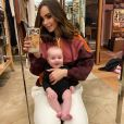 Nabilla et son fils Milann (4 mois) sur Instagram - 2 février 2020