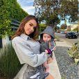 Nabilla et son fils Milann (4 mois) sur Instagram - 28 janvier 2020