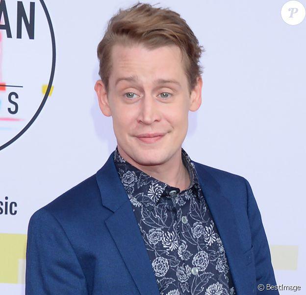 Macaulay Culkin à la soirée 2018 American Music Awards au théâtre Microsoft à Los Angeles, le 9 octobre 2018