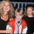 Brooke Shield et Macaulay Culkin en 1991.