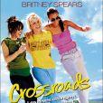 "Britney Spears, Taryn Manning et Zoë Saldaña sur l'affiche du film ""Crossroads"" en 2002."