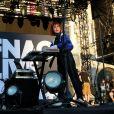 La chanteuse Suzane en concert sur le parvis de l'Hôtel de Ville de Paris, lors du Festival Fnac Live 2019. Le 3 juillet 2019 © Céline Bonnarde / Bestimage