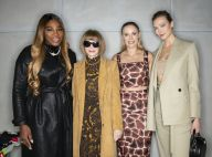 Serena Williams : Glamour en cuir avec Caroline Wozniacki et Karlie Kloss