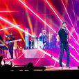 Enrique Iglesias en concert à Birmingham, Royaume Uni, le 27 octobre 2018.