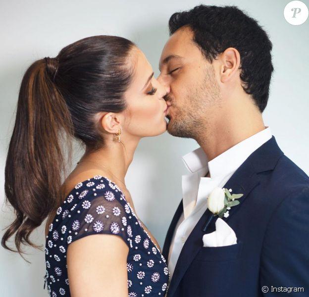Iris Mittenaere et Diego El Glaoui vont au mariage de la mère d'Iris, le 15 février 2020.