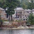 Exclusif - Le manoir au bord de l'eau à North Saanich sur l'île Victoria au Canada où le prince Harry, sa femme Meghan Markle et leur bébé Archie ont passé les vacances de Noël et du nouvel an.