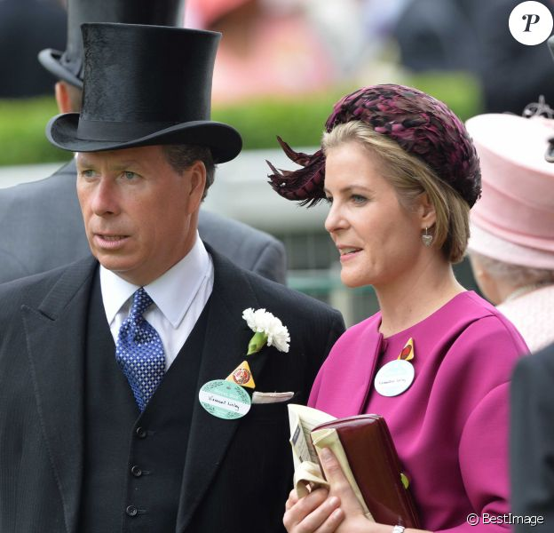 David et Serena Linley au Royal Ascot en 2013.