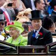 David Armstrong-Jones - La reine Elisabeth II d'Angleterre lors du 4ème jour du Royal Ascot 2018 à Ascot le 22 juin 2018.
