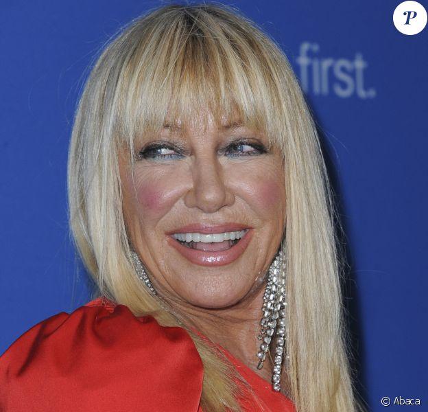 "Suzanne Somers - 7e ""Biennial UNICEF Ball"" à l'hôtel Beverly Wilshire de Beverly Hills. Le 14 avril 2018. @Elizabeth Goodenough/Everett Collection/ABACAPRESS.COM"