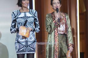 Victoires de la musique classique : Leïla Kaddour enceinte et divine en minirobe