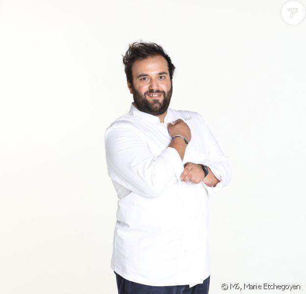 "Gianmarco Gorni, 28 ans, candidat de ""Top Chef 2020"", photo officielle"