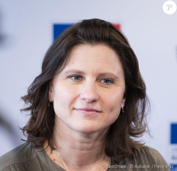 Roxana Maracineanu, ministre des Sports - Convention Nationale de Prevention des violences Sexuelles dans le sport au CNOSF à Paris, le 21 février 2020. © JB Autissier / Panoramic / Bestimage