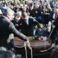 Obsèques de Manitas de Plata, à Montpellier, le 8 novembre 2014.