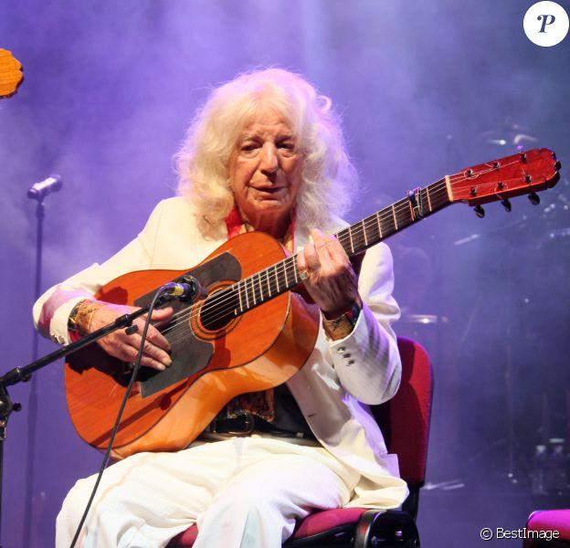 """Manitas de Plata - Soirée concert """"Chico Castillo"""" à l'Olympia, le 31 octobre 2012."""
