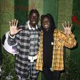 Exclusif - Mamadou Sakho et  Salif Gueye  au premier goûter des étoiles au profit de l'association AMSAK à l'Orangerie au Jardin d'acclimatation à Paris, France, le 1er mars 2020. © Marc Ausset-Lacroix/Bestimage