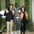 Exclusif - Tomer Sisley Mamadou Sakho et Sandra Sisley au premier goûter des étoiles au profit de l'association AMSAK à l'Orangerie au Jardin d'acclimatation à Paris, France, le 1er mars 2020. © Marc Ausset-Lacroix/Bestimage