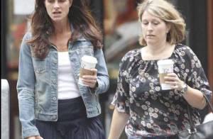 Brooke Shields : A voir sa tête, elle a bien besoin d'un petit café pour revenir en forme !