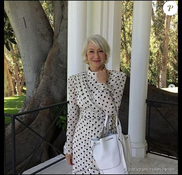 Helen Mirren. Mars 2020.