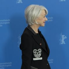 Helen Mirren, récompensée d'un Ours d'honneur pour l'ensemble de sa carrière, donne une conférence de presse à la 70 ème Berlinale (20 février - 1er mars 2020), le 27 février 2020.