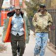 Kanye West et Virgil Abloh à New York. Le 5 février 2020.