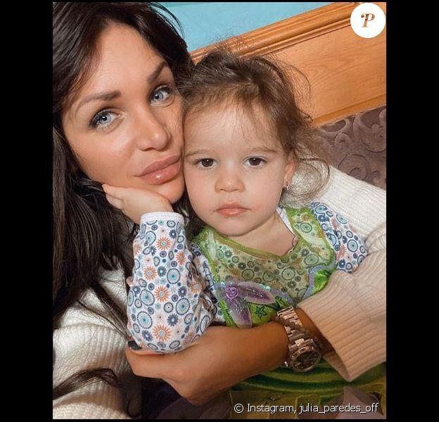 Julia Paredes et sa petite Luna sur Instagram, le 20 janvier 2020.