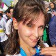 Ophélie Meunier au semi-marathon de Tel Aviv, le 28 février 2020