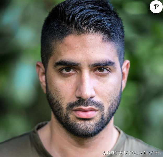"""Ahmad, candidat de """"Koh-Lanta 2020"""", saison intitulée """"L'île des héros"""", diffusée à partir du 21 février 2020."""
