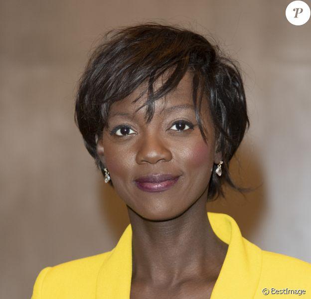 """Exclusif - Rama Yade - Soirée de Gala de l'AMREF """"Les femmes au coeur de la santé en Afrique"""" au Pavillon Cambon Capucines à Paris , le 15 octobre 2019."""