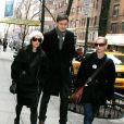 Lucy Liu et Zach Helm à New York le 14 mars 2009.