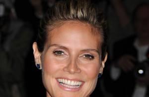 La superbe Heidi Klum enceinte a décidé :