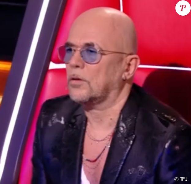 """Pascal Obispo lors des battles de """"The Voice 2020"""". Emission du samedi 28 mars 2020, TF1"""