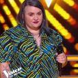 """Melba et Anna lors des battles de """"The Voice 2020"""" - Talents de Amel Bent. Emission du samedi 28 mars 2020, TF1"""