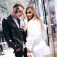 Aaron Carter et sa petite amie, Melanie Martin, sur Instagram, le 7 mars 2020.