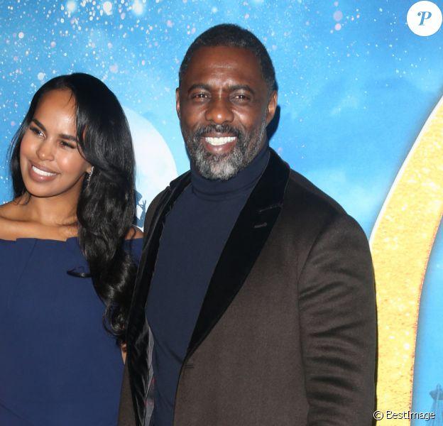 Idris Elba et sa femme Sabrina Dhowre Elba lors du photocall de la première mondiale de Cats au Alice Tully Hall à New York le 16 décembre 2019.  Cats World Premiere - Arrivals 12/16/19, New York, New York, United States of America16/12/2019 - New York