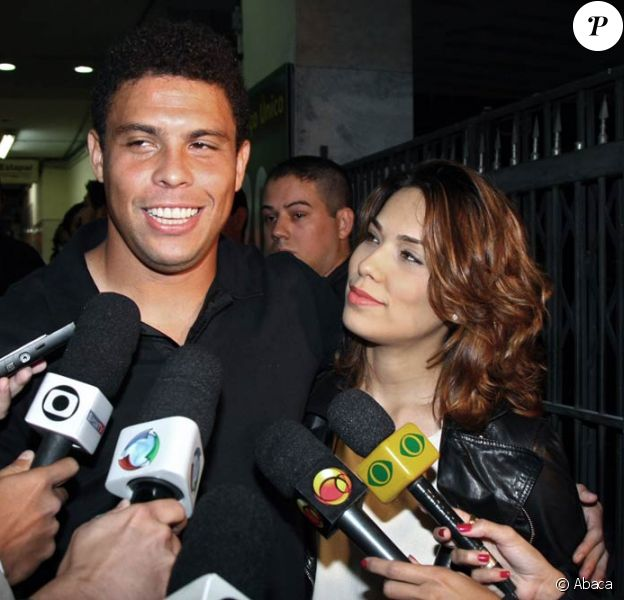 Ronaldo et sa femme Bia Antony !