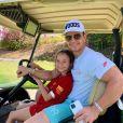 Mark Wahlberg et sa fille Grace. Décembre 2019.