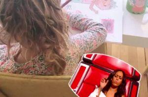 Amel Bent filme sa fille Sofia, adorable petit talent musical