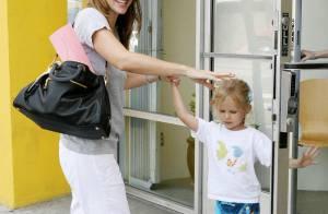 Jennifer Garner : depuis qu'elle retravaille elle a le sourire et une pêche d'enfer ! Pendant que son homme s'est coupé les cheveux !